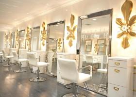 Фото дизайна интерьера парикмахерской